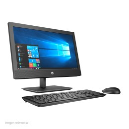 "ALL-IN-ONE HP PROONE 400 G4, 20"" IPS HD, I5-8500 3.00 GHZ,8GB DDR4,1TB, W10"
