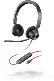 AURICULARES BLACKWIRE 3320, BW3320-M USB-A