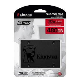 DISCO DURO Kingston 480Gb SSD A400 SATA3 2.5 6Gb/s